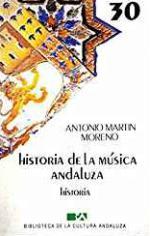 Portada del libro Historia de la música andaluza