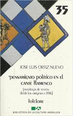 Portada del libro Pensamiento político en el cante flamenco (Antología)