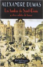 Portada del libro Las tumbas de Saint-Denis y otros relatos de terror