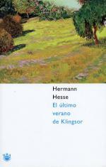 Portada del libro El último verano de Klingsor