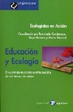 Portada del libro Educación y Ecología: El currículum oculto antiecológico de los libros de texto