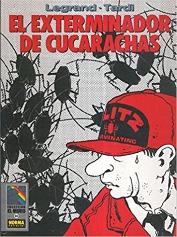 Portada del libro El exterminador de cucarachas