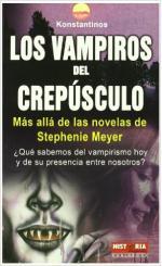 Portada del libro Los vampiros del crepúsculo