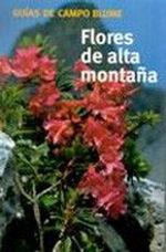 Portada del libro GuIa Campo FLORES ALTA MONTAÑA