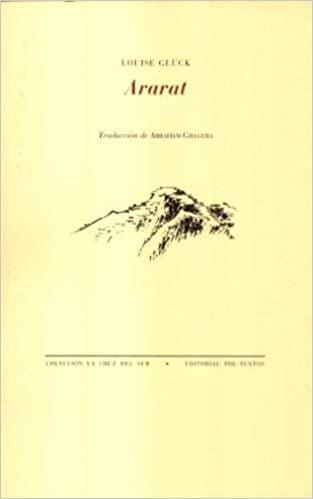 Portada del libro Ararat