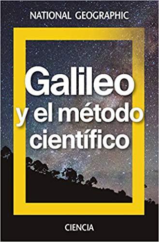Portada del libro Galileo: El método científico. La naturaleza se escribe con fórmulas