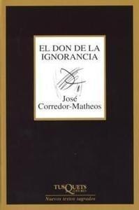 Portada del libro DON DE LA IGNORANCIA M-223