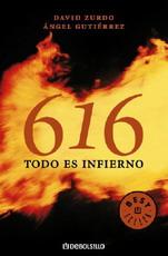 Portada del libro 616. Todo es infierno