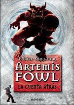 Portada del libro La cuenta atrás (Artemis Fowl 5)