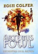 Portada del libro Encuentro en el ártico (Artemis Fowl 2)