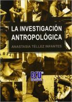Portada del libro La investigación antropológica