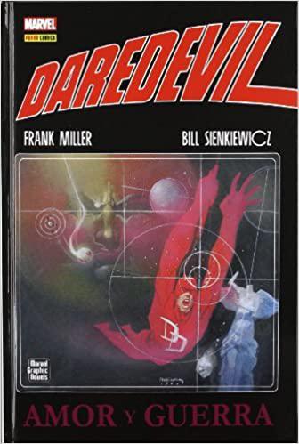 Portada del libro Daredevil: Amor y guerra