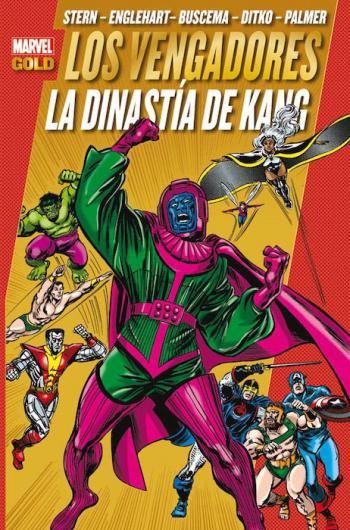 Portada del libro Los Poderosos Vengadores 8: La dinastía de Kang