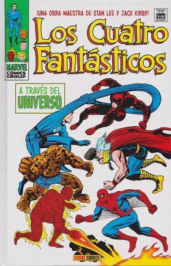 Portada del libro Los Cuatro Fantásticos 4. A través del universo