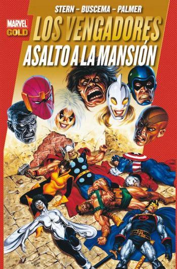 Portada del libro Los Poderosos Vengadores 9: Asalto a la mansión