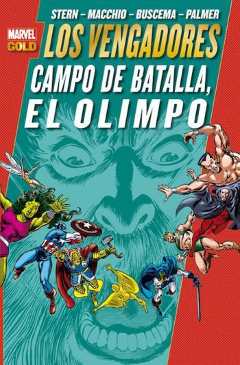 Portada del libro Los Poderosos Vengadores 10: Campo de batalla, el Olimpo