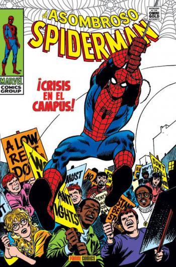 Portada del libro El Asombroso Spiderman 04: ¡Crisis en el campus!