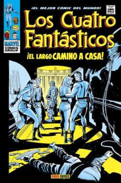 Portada del libro Los Cuatro Fantásticos 5. El largo camino a casa
