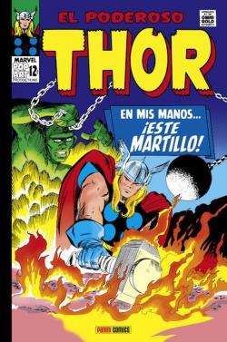 Portada del libro El poderoso Thor 02: En mis manos... ¡este martillo!