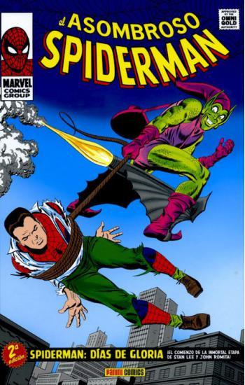 Portada del libro Marvel Gold. El Asombroso Spiderman 03