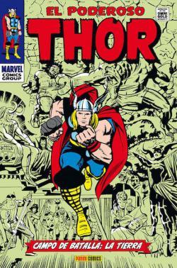 Portada del libro El poderoso Thor 03: Campo de batalla: la Tierra