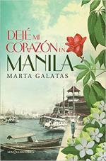 Portada del libro Dejé mi corazón en Manila