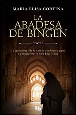 Portada del libro La abadesa de Bingen