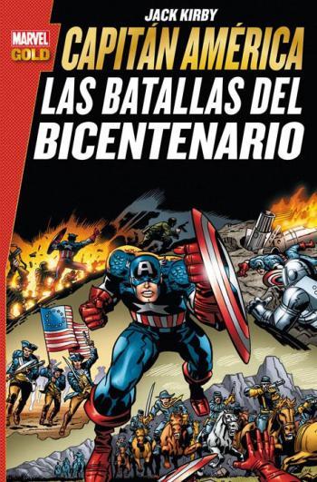 Portada del libro Capitán América: Las Batallas del Bicentenario