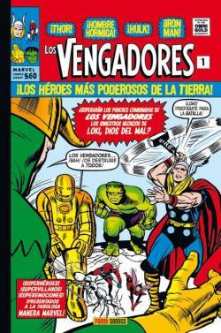 Portada del libro Los Vengadores 01: La llegada de los Vengadores