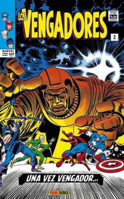 Portada del libro Los Vengadores 02: Una vez Vengador...