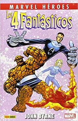 Portada del libro Los 4 Fantásticos de John Byrne 2