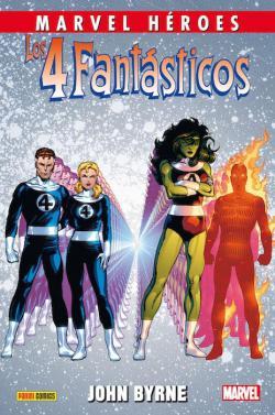 Portada del libro Los 4 Fantásticos de John Byrne 3