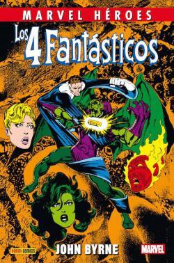 Portada del libro Los 4 Fantásticos de John Byrne 4