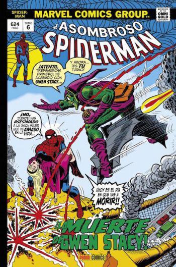 Portada del libro El Asombroso Spiderman 06: ¡La muerte de Gwen Stacy!