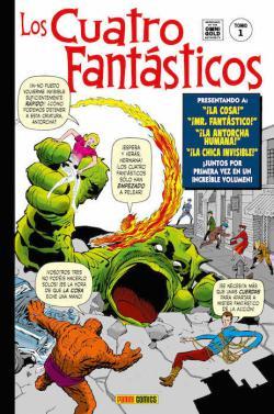Portada del libro Los Cuatro Fantásticos 1. Génesis