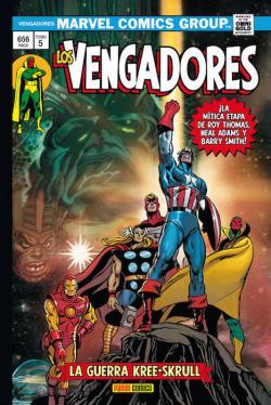 Portada del libro Los Vengadores 05: La guerra Kree-Skrull