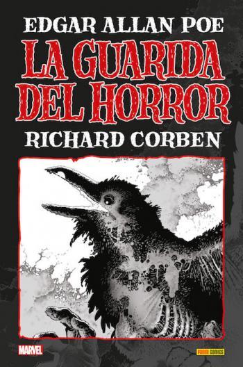 Portada del libro La Guarida del Horror: Edgar Allan Poe