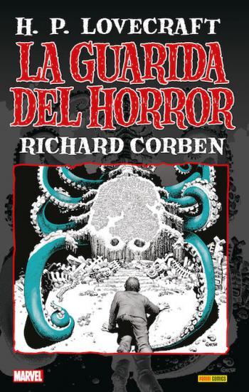 Portada del libro La Guarida del Horror: H. P. Lovecraft