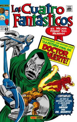 Portada del libro Los Cuatro Fantásticos 2. La batalla por el edificio Baxter