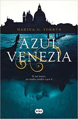 Portada del libro Azul Venezia