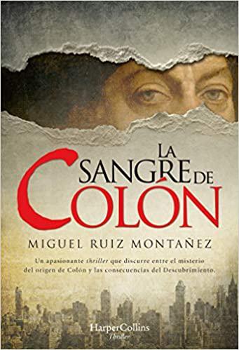 Portada del libro La sangre de Colón