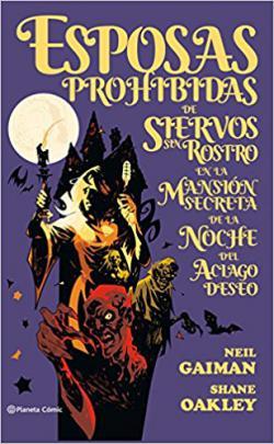 Portada del libro Esposas prohibidas de siervos sin rostro en la mansión secreta de la noche del aciado deseo