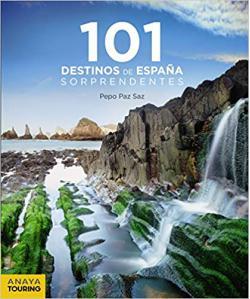 Portada del libro 101 destinos de España sorprendentes