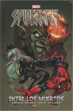 Portada del libro Spiderman. Entre los muertos