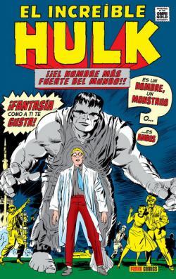 Portada del libro El Increíble Hulk 01: ¿Hombre o monstruo?