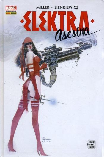 Portada del libro Elektra Asesina