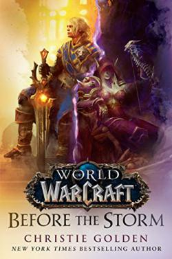 Portada del libro World Of Warcraft. Antes de la tormenta