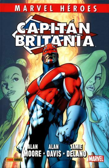 Portada del libro Marvel Héroes. Capitán Britania