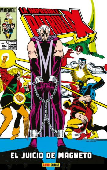 Portada del libro La Imposible Patrulla-X 06: El juicio de Magneto
