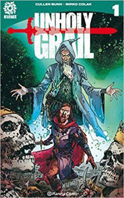 Portada del libro Unholy Grail 1: El asiento peligroso